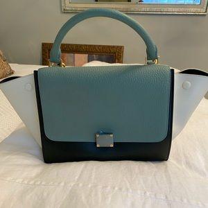 Tri-Color Celine Trapeze Bag - Brand New